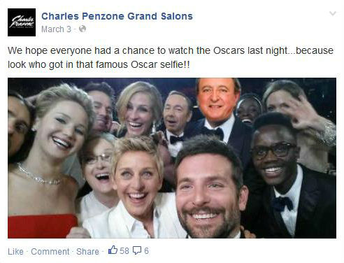 STAMP 2014: Charles Penzone's Fun Social Media Post