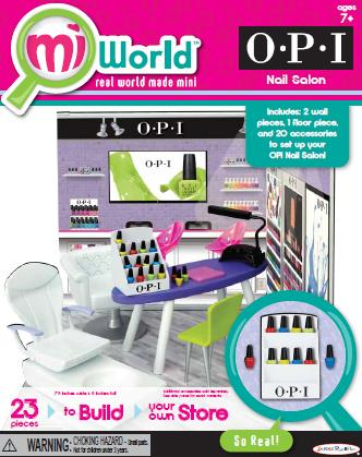 OPI Debuts Nail Salon Play Set