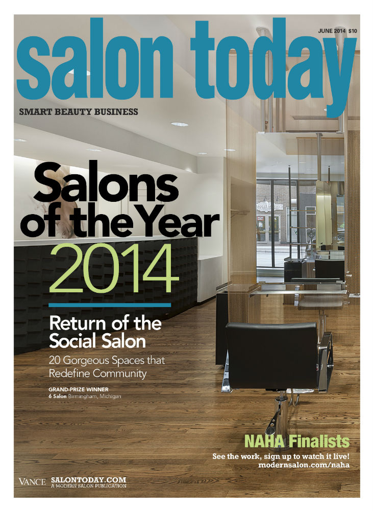 6 Salon Named SALON OF THE YEAR for 2014