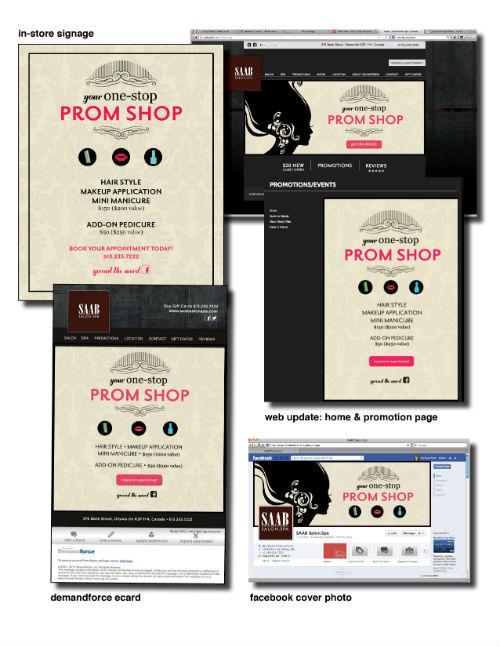 2013 STAMP Coordinated Campaign Winner: Saab Salon Spa