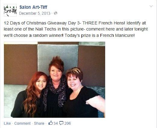 STAMP 2014: Salon Art-Tiff's Social Media Campaign