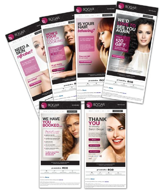 STAMP 2014: Salon Bogar's E-cards