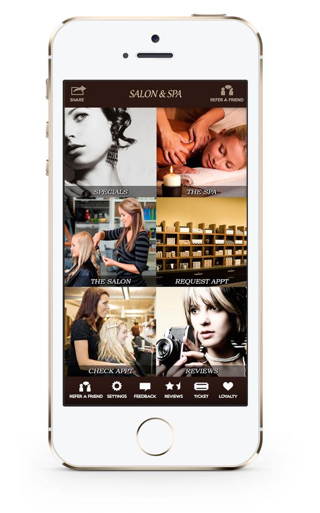 Salon App: SalonCloudsPlus