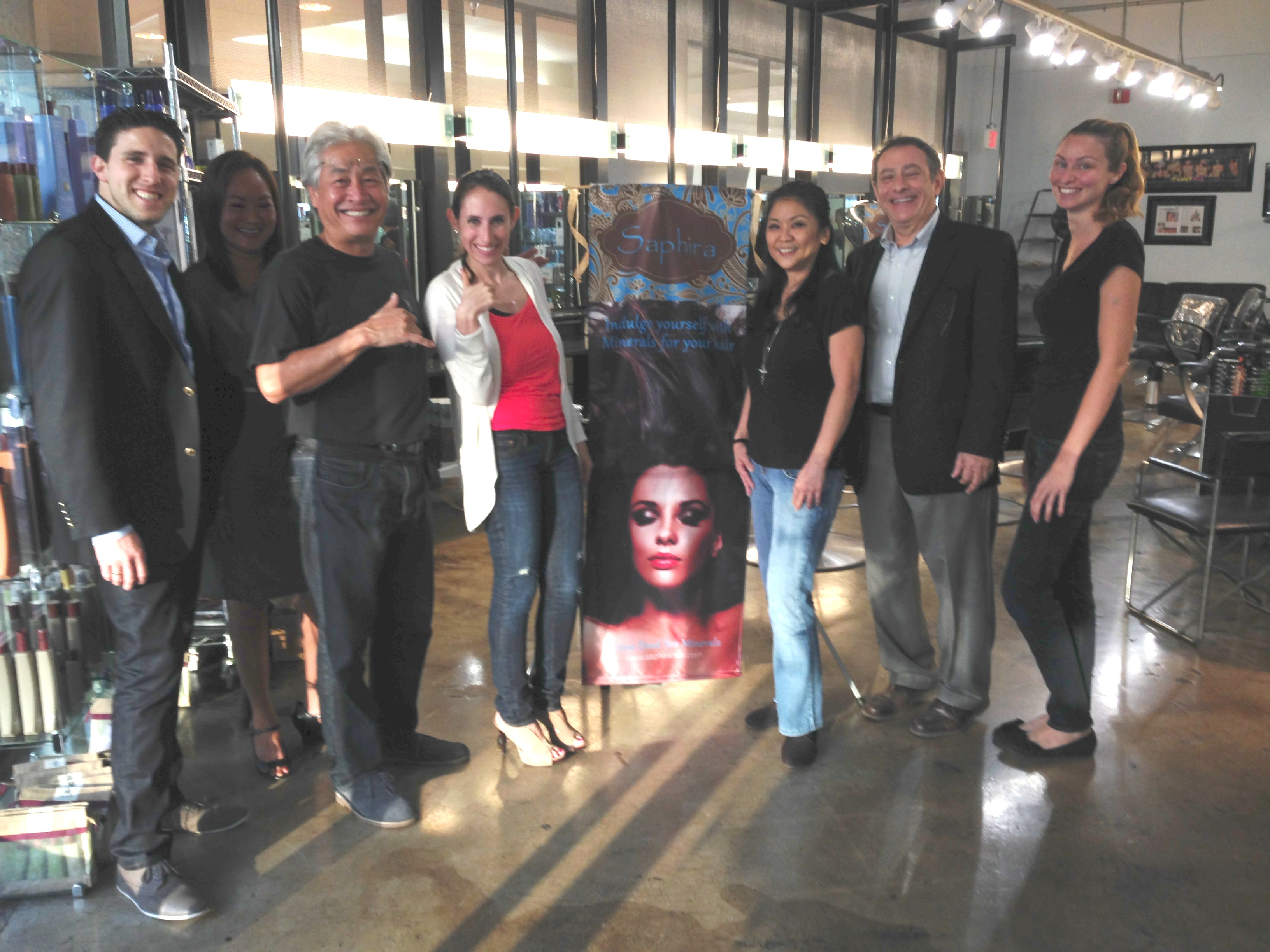 Saphira Haircare Grows Distribution Channels