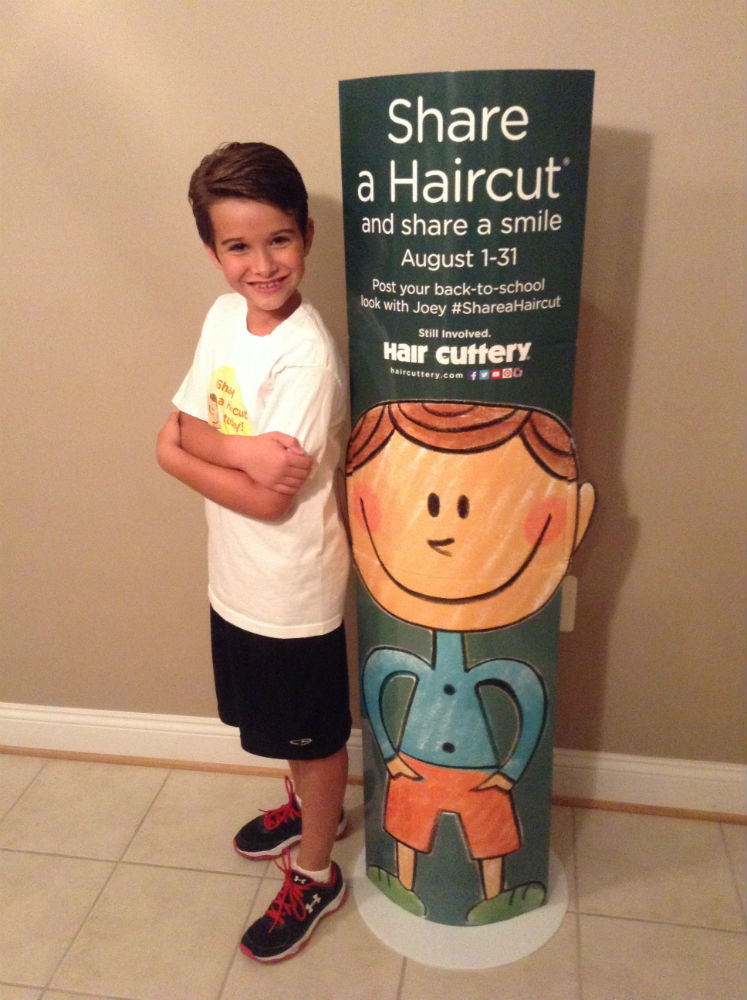 Hair Cuttery Donates Back-to-School Haircuts to Children in Need