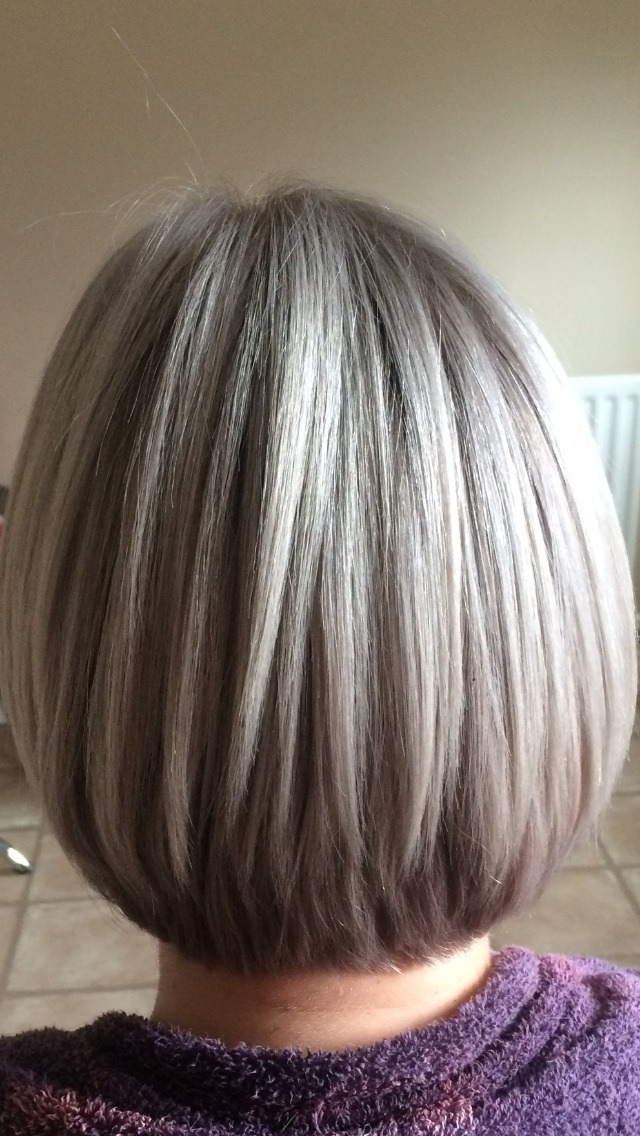 COLOR CORRECTION: Hot Pink to a Silvery Ash