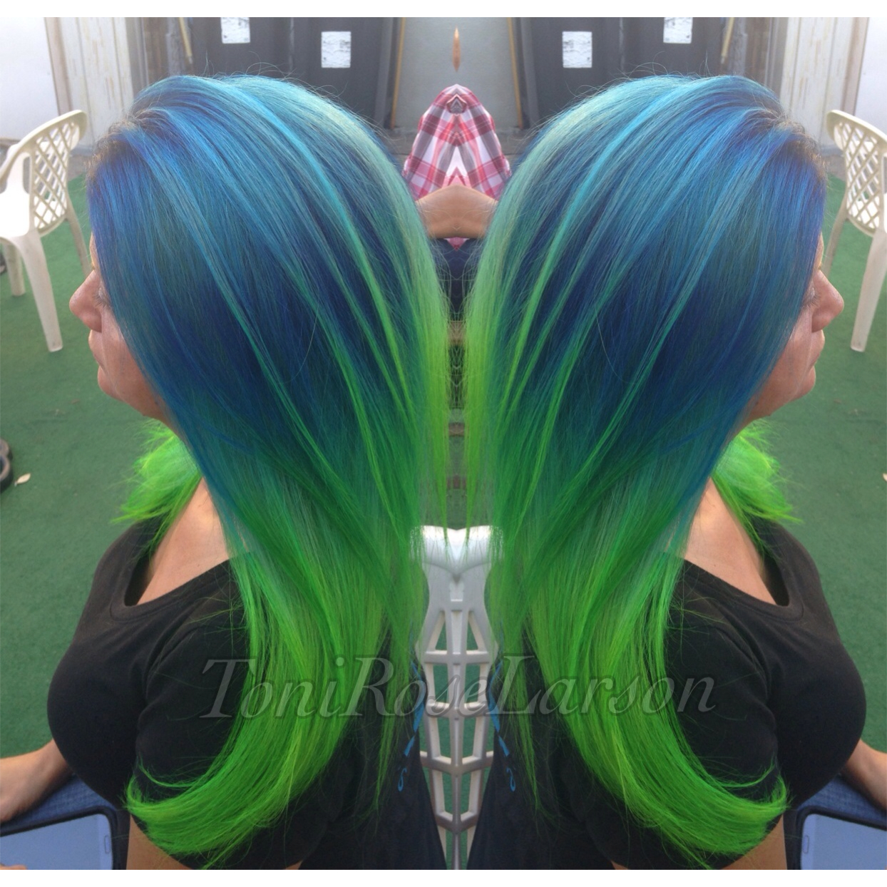 HOW TO: Blue/Green Colormelt - Hair Color - Modern Salon