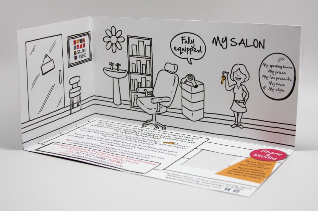 STAMP 2014: The Salon House's Recruitment Brochure