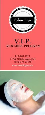 VIP Rewards Program at Salon Ingá in Florida