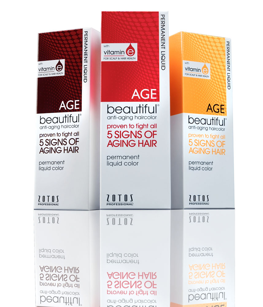 AGEbeautiful Introduces Anti-Aging Haircolor in Liquid Form