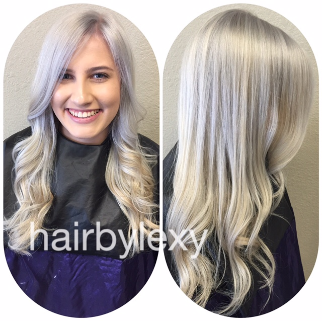 Color Correction Box Blah To Silver Ash Blonde Career