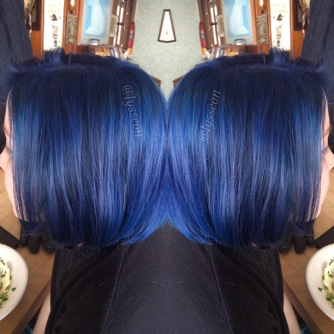 Joico hair color tags color jocio joico - Formula Cobalt Blue Haircolor