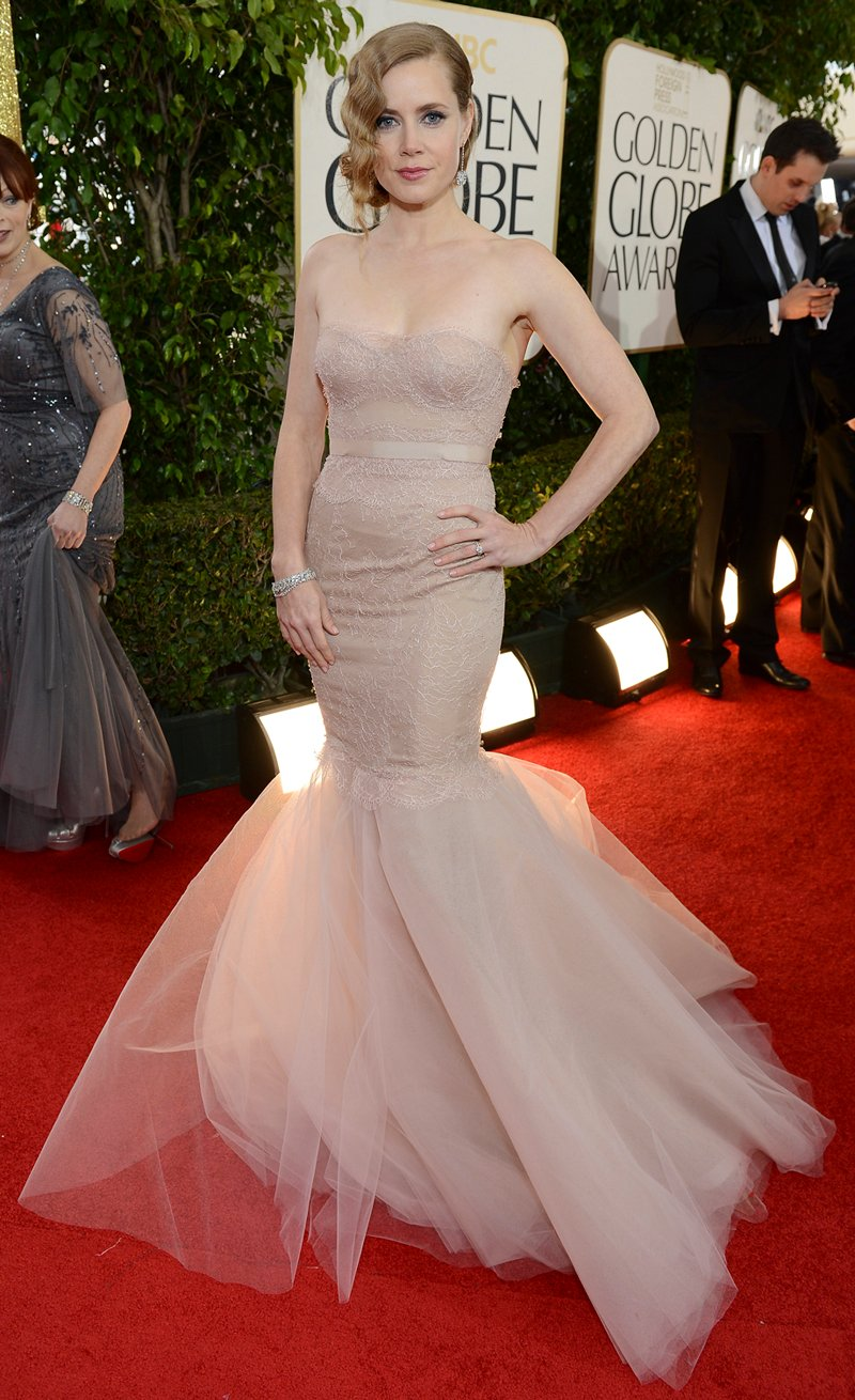 Amy Adams' Hair for the 2013 Golden Globes