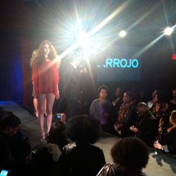 FASHION WEEK: Arrojo at Texture on the Runway