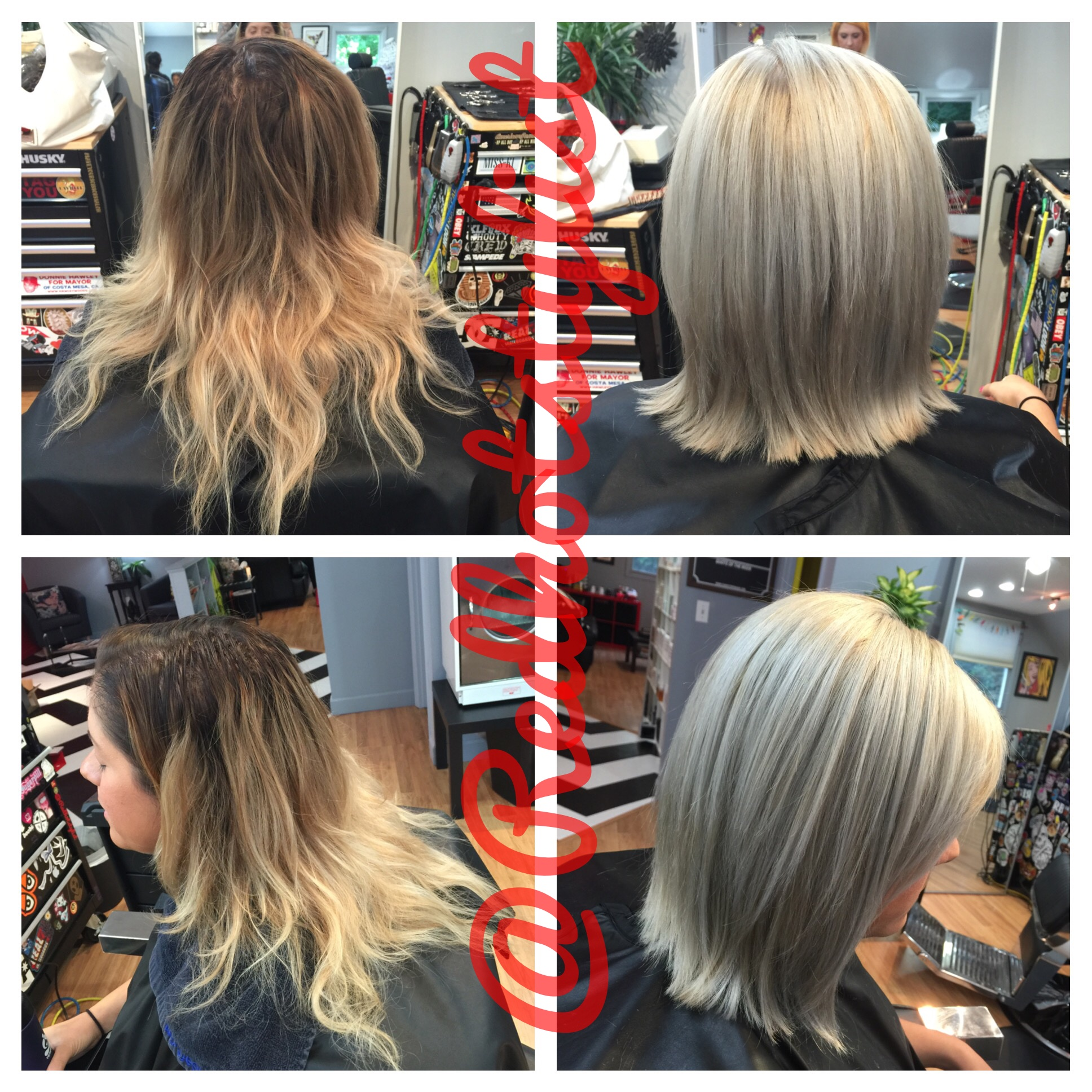 COLOR CORRECTION: Hurting Patchy Ombre To Ash Blonde