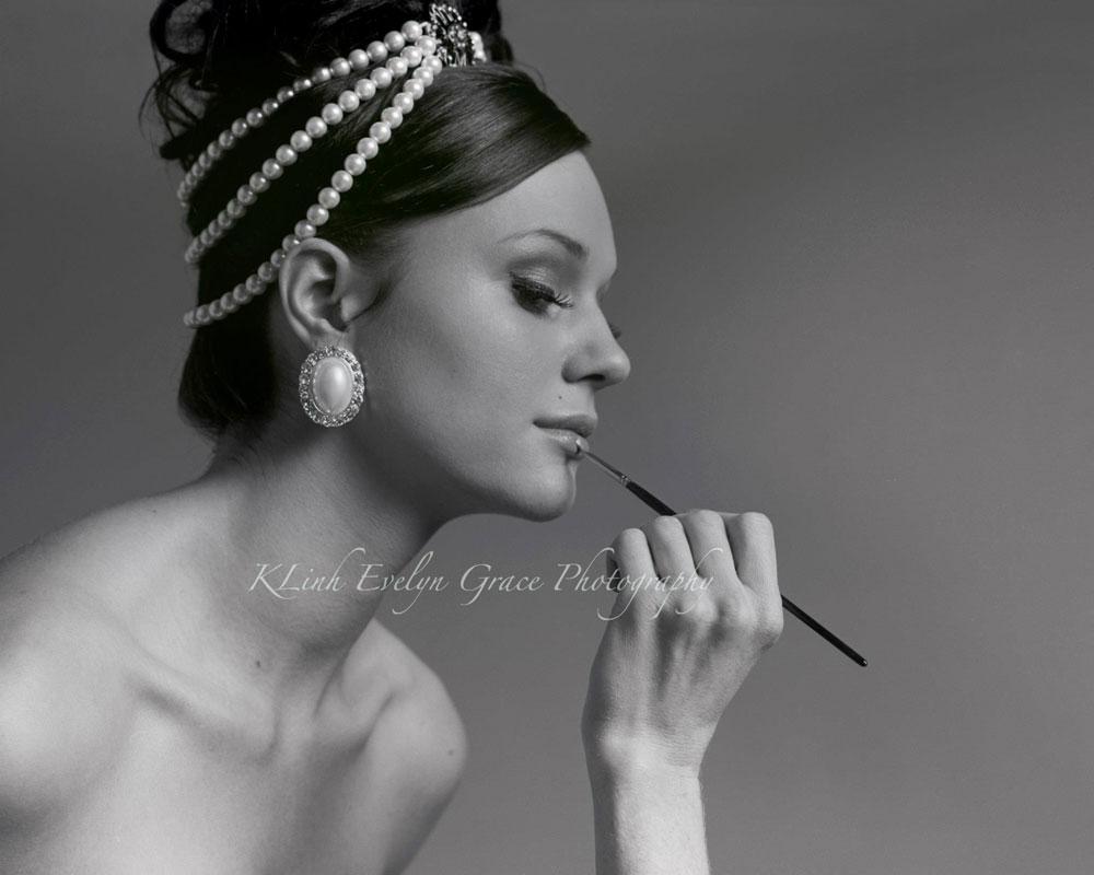 Audrey Hepburn-Inspired Hair Tutorial