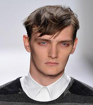 FASHION WEEK: Men's and Women's Tousled Hair at Richard Chai