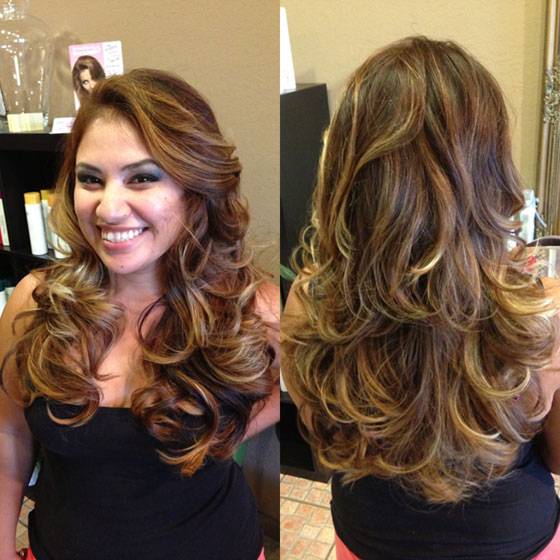 How To Balayombre: Balayage Meets Ombre Color
