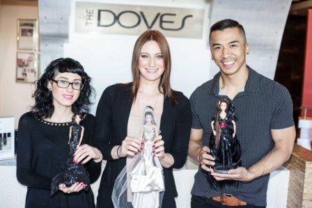 The Annual Barbie Challenge at The Doves Catches Fire