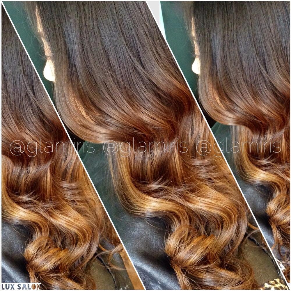 formula: caramel-blonde balayage - hairstyling & updos - modern salon