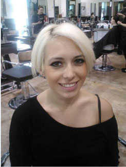 Short Blonde Hair: Before and After
