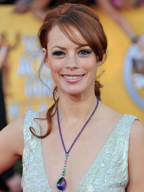 Berenice Bejo and Tina Fey's Hair at SAG Awards