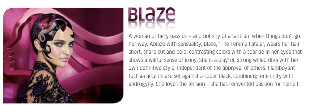 Blaze, Grace, Celeste, Roxy: Wella Trend Vision's Leading Ladies