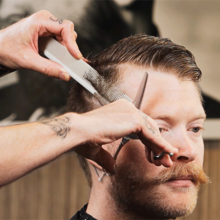 HOW-TO: Men's Cutting Technique for Soft Texture