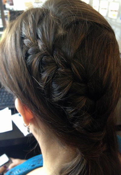 Peek-a-Boo French Braid: Get the Steps!