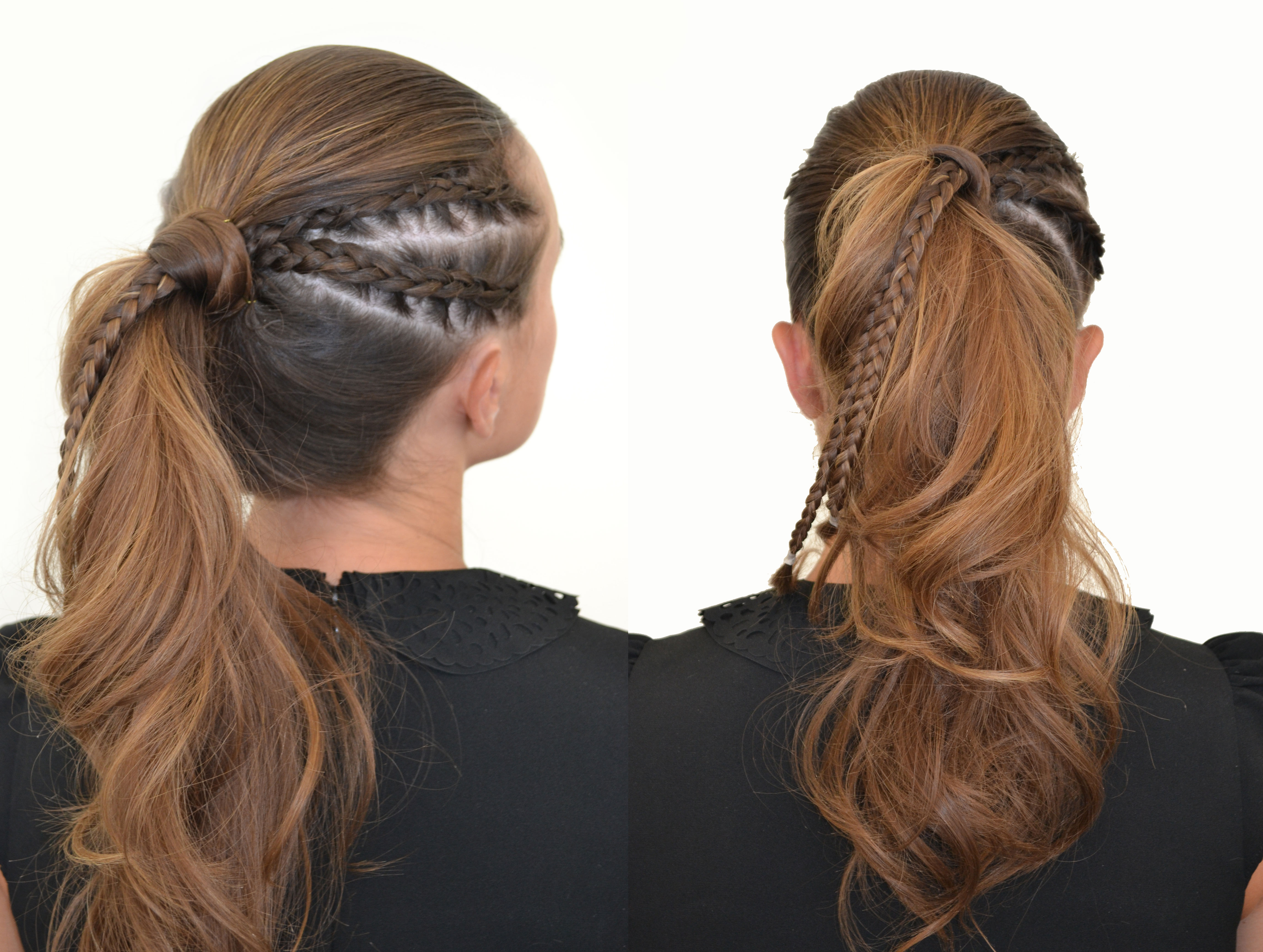 HOW-TO: Tri-Look Ponytail - A Different Take on The Standard Pony