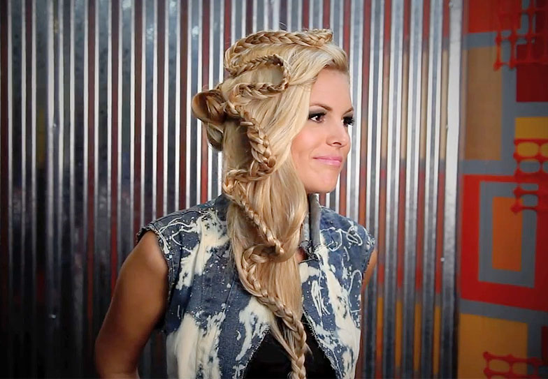 "How to Create Brig Van Osten's ""Hey Baby"" Braid"