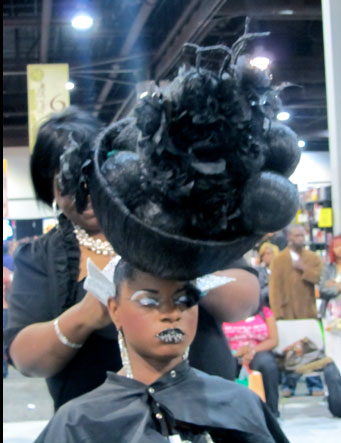Naturallycurly.com President Reports from Atlanta's Bronner Bros Show