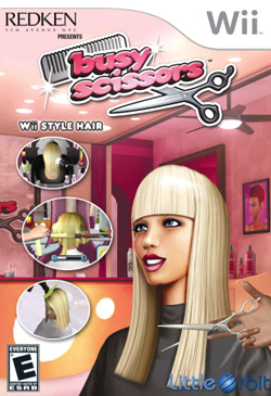 New Wii game lets you cut hair