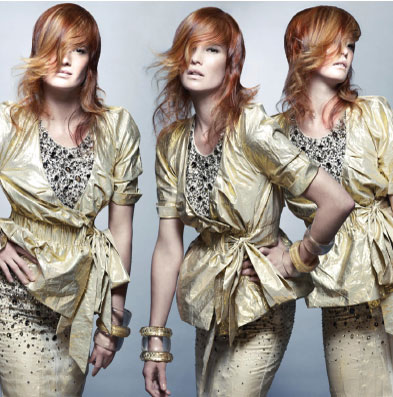 "HOW-TO: Amplified Red, Gold and Blonde ""The Cameron"" Style"