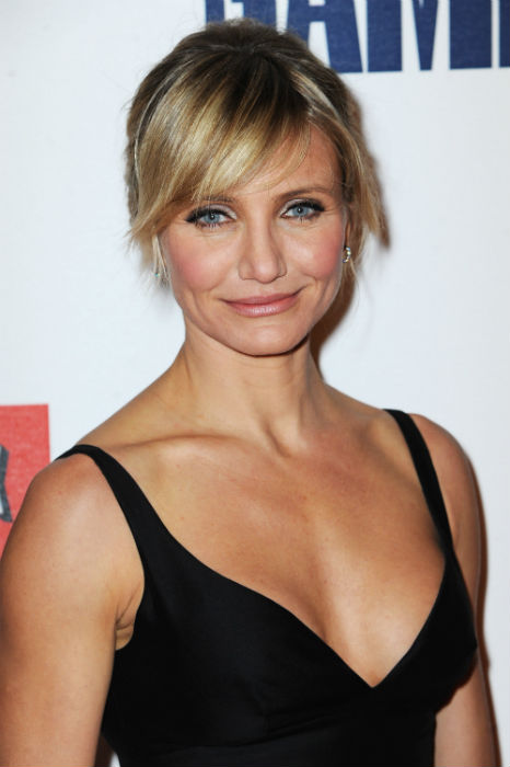 How-To: Cameron Diaz's 'Girly, Modern' Updo