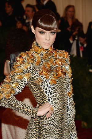 Coco Rocha Rocks the MET