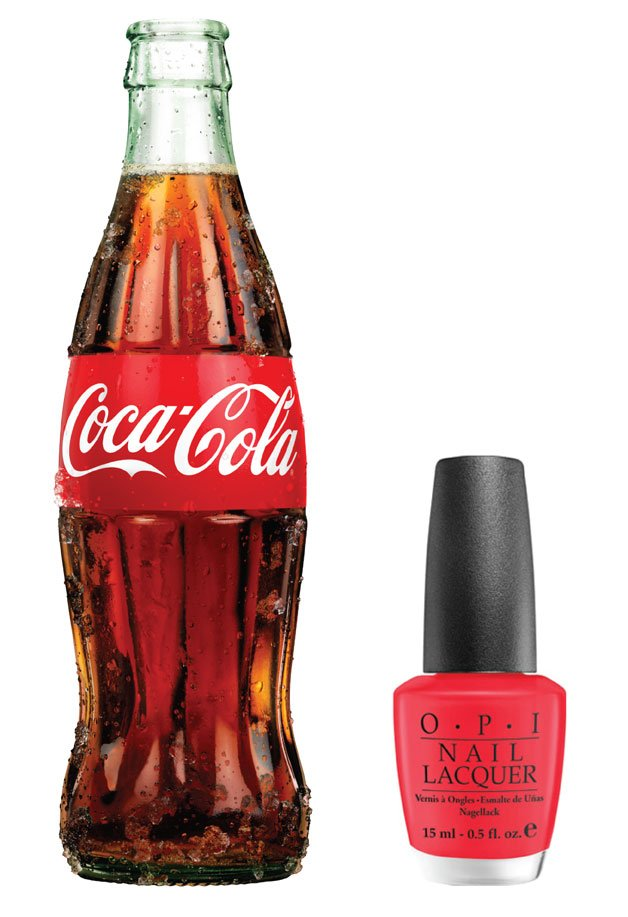OPI Partners with Coca-Cola for Nail Lacquer Launch