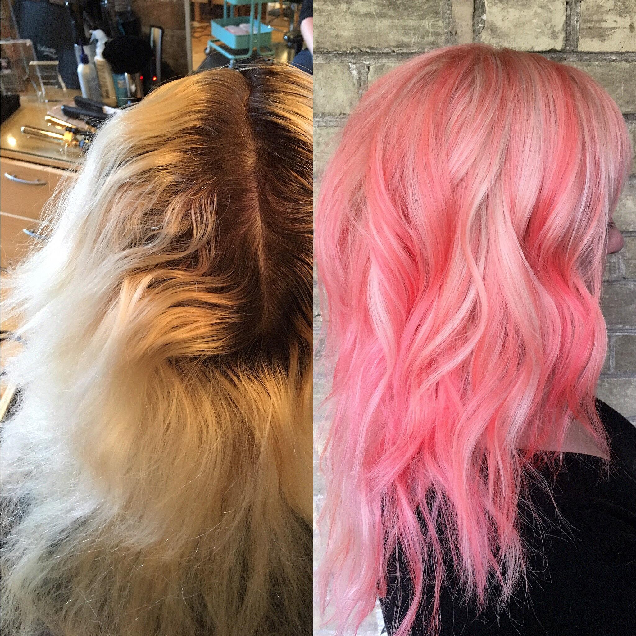 Makeover Going Dimensional Sorbet Hair Color Modern Salon