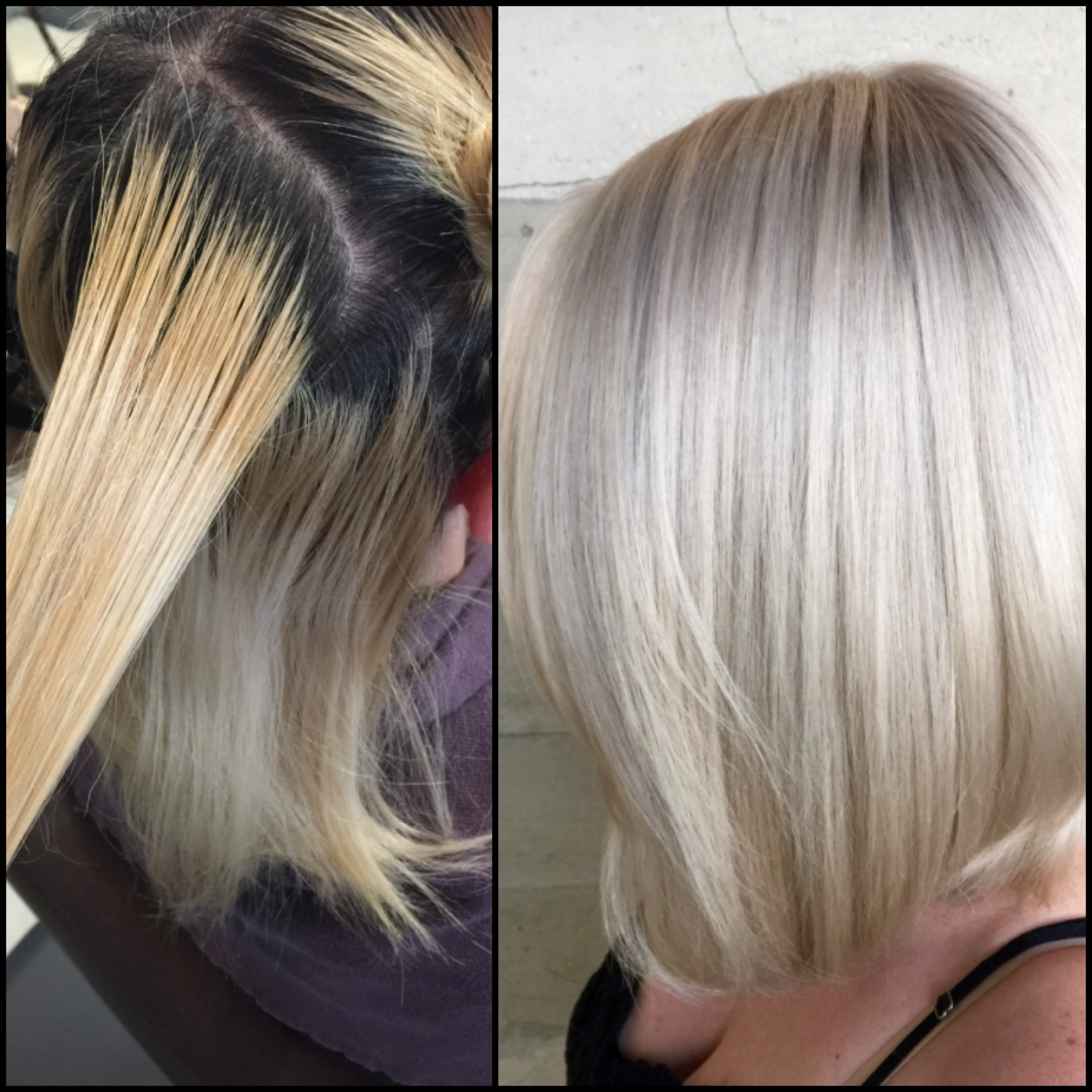 Correction Addressing Bands And Uneven Color Career Modern Salon