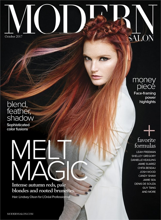 Hair Style Magazines Modern Salon Magazine  Professional Hairstylist Education