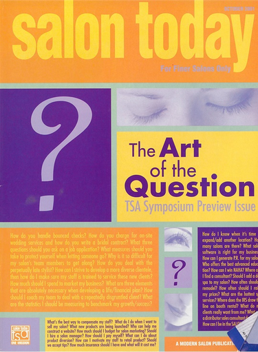 October 2001 Cover