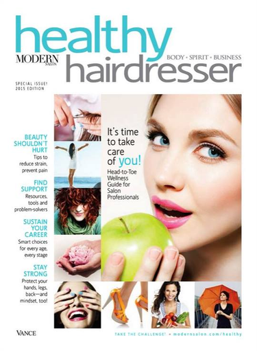 Healthy Hairdresser 2015 Cover