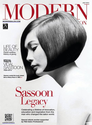Vidal Sassoon Special Tribute Cover