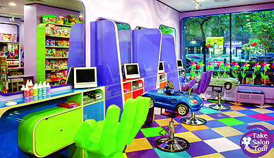 MSTV: A Salon Just for Kids!
