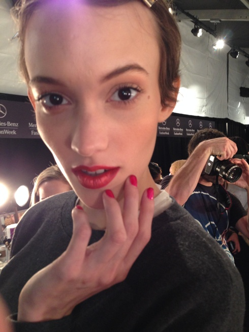 NYFW NAILS:  Cuccio Colour at David Tlale