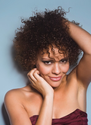 Tips for cutting and coloring curly hair