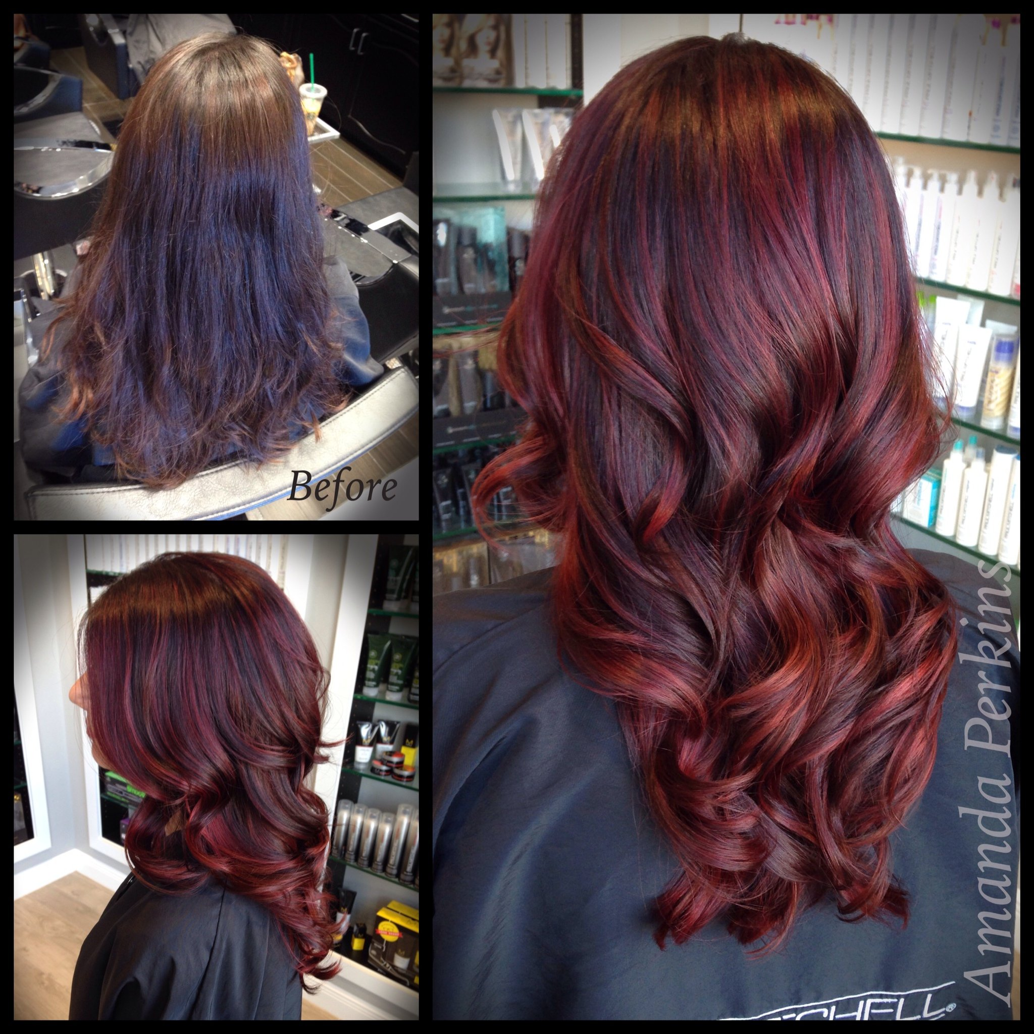 How To Dark Cherry Hair Color Modern Salon