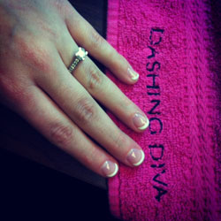 Dashing Diva's French Wrap HOW TO: French Mani Tutorial