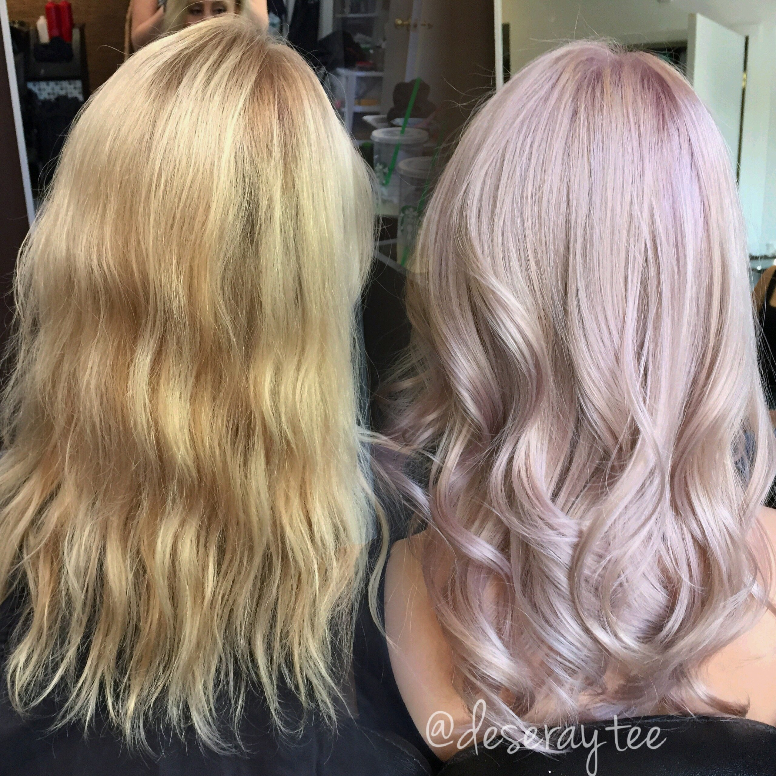 Transformation Pretty In Pale Lavender Pink Career