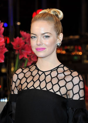 HOW TO: Emma Stone at The Croods NYC Premiere